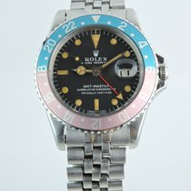 Rolex 1675 Steel 1967 GMT-Master 40mm pre-owned