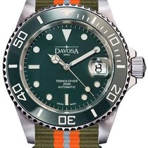 Davosa Ternos Automatic Steel 40mm Green