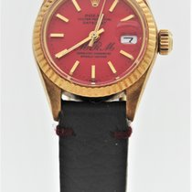 Rolex Lady-Datejust Yellow gold 26mm Red No numerals United States of America, Florida, Key Biscayne