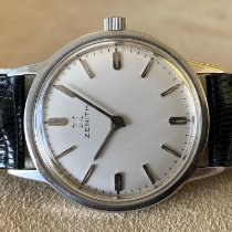 Zenith Steel 34mm Manual winding pre-owned
