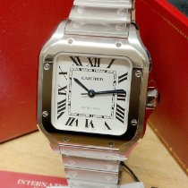 Cartier new Automatic 35mm Steel Sapphire crystal