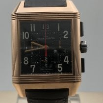 Jaeger-LeCoultre Reverso Squadra Chronograph GMT 230.2.45 Très bon Or rose 35mm Remontage automatique France, Paris