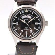 IWC Pilot Spitfire UTC Steel 39mm Black Arabic numerals