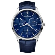 Jaeger-LeCoultre Master Ultra Thin Réserve de Marche Steel 39mm Blue United States of America, Florida, Sunny Isles Beach