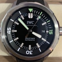 IWC Aquatimer Automatic pre-owned 44mm Black Date Rubber