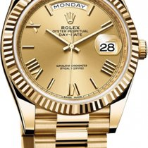 Rolex Day-Date 40 228238 État neuf Or jaune 40mm Remontage automatique