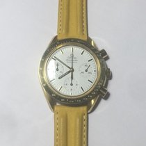 Omega Speedmaster Reduced nuevo 2005 Automático Reloj con estuche y documentos originales Omega Speedmaster Reduced Oro Giallo 18 kt