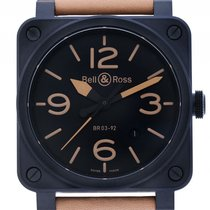 벨앤로스 (Bell & Ross) Aviation BR 03-92 Heritage Ceramic...
