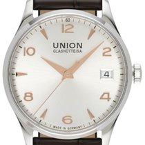 Union Glashütte Noramis Date Otel 34,00mm Argint