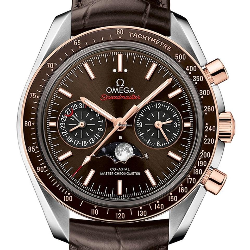 Omega Speedmaster Professional Moonwatch Moonphase 304.23.44.52.13.001 2021 neu