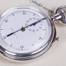 Patek Philippe Silver Manual winding pre-owned Chronograph