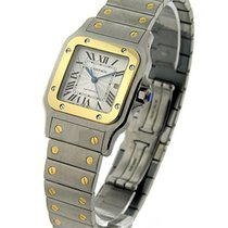 Cartier W20058C4 Santos Galbee TwoTone - Steel and Yellow Gold...