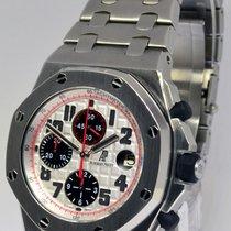 Audemars Piguet Royal Oak Offshore SS Panda Chronograph Watch...