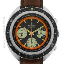Nivada stainless steel vintage 1960's Chronograph