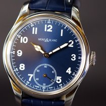 Montblanc 1858 Steel 44mm Blue Arabic numerals United States of America, New York, NY