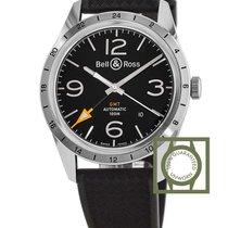 Bell & Ross Vintage Black Dial GMT Black Dial