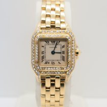 Cartier Panthère Yellow Gold Factory Diamonds