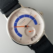 NOMOS Autobahn 1303 New Steel 41mm Automatic