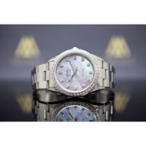 Rolex Air King Precision Steel 34mm Mother of pearl