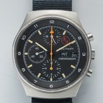Orfina 3H Chronograph Bundeswehr Porsche Design Military original