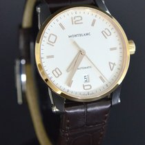 Montblanc Timewalker Steel 39mm White Arabic numerals