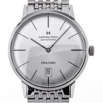 Hamilton Intra-Matic new Automatic Watch with original box and original papers H38455151