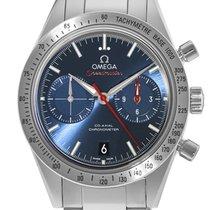 Omega Speedmaster '57 Steel 41.5mm Blue No numerals