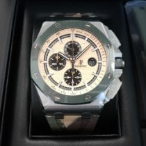 愛彼 Royal Oak Offshore Chronograph 鋼 44mm 香檳色 無數字