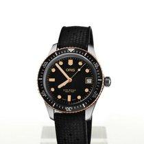 Oris Steel Automatic Black 36mm new Divers Sixty Five