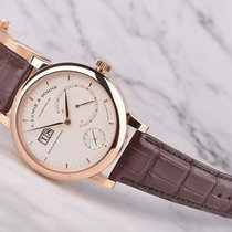 A. Lange & Söhne Red gold Manual winding pre-owned Lange 31