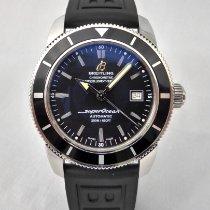 Breitling Superocean Héritage 42 Staal 42mm Zwart Geen cijfers