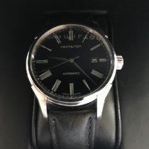 Hamilton Valiant Acier 40mm Noir Romain