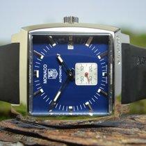 TAG Heuer Monaco Calibre 6 Steel 37mm Blue