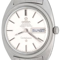 Omega Constellation Day-Date Steel 35mm Silver No numerals United States of America, Texas, Dallas