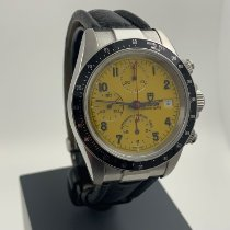 Tudor Tiger Prince Date Steel 40mm Yellow Arabic numerals