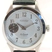 Roamer Steel 44,5mm Manual winding Roamer La Grande 101358 new