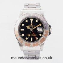 Rolex GMT-Master Steel 40mm Black No numerals United Kingdom, Guildford,Surrey
