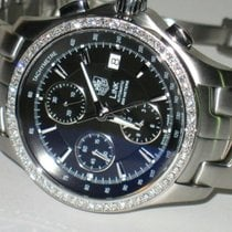 TAG Heuer Link Steel 40mm Black No numerals United States of America, New York, Greenvale