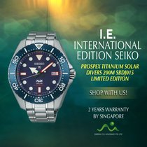 Seiko new Quartz Screw-Down Crown 47.mm Titanium