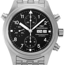 IWC Pilot Double Chronograph Stal 41mm