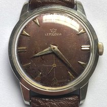 Lemania Steel 36.5mm Manual winding pre-owned United States of America, New York, Brooklyn
