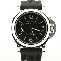 Panerai Luminor Base tweedehands 44mm Zwart Silicone