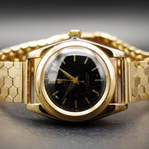 Rolex Bubble Back Or rose 32mm Noir Sans chiffres France, Paris