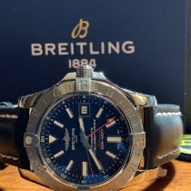 Breitling Avenger II GMT new 2019 Automatic Watch with original box and original papers A32390111C1S1