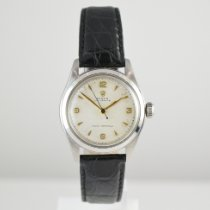 Rolex Staal 32mm Wit
