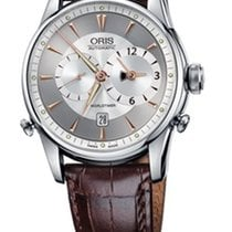 Oris Artelier Worldtimer new Automatic Watch with original box and original papers 690 7581 4051
