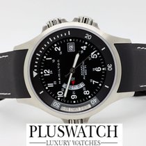 Hamilton Uhr Khaki Navy GMT Black Dial D12/22.5