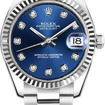 Rolex Datejust, Ref. 178274 - blau Diamant ZB/ Oysterband
