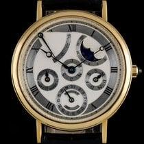 Breguet 18k Y/G Silver Dial Perpetual Calendar Classique B&P...