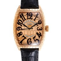 Franck Muller Gold Croco Men's Automatic Watch 8880SCGOLDC...